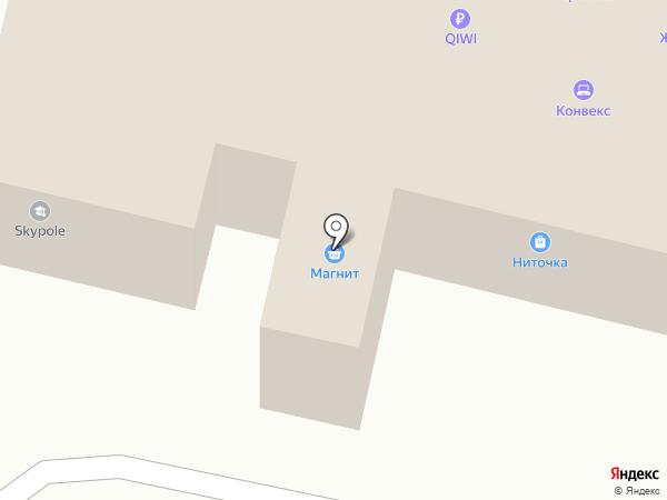 Ниточка на карте Ревды