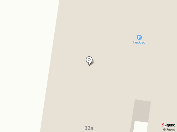 Глобус на карте Ревды