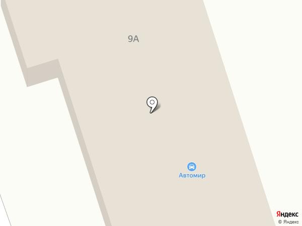 АвтоМир на карте Ревды