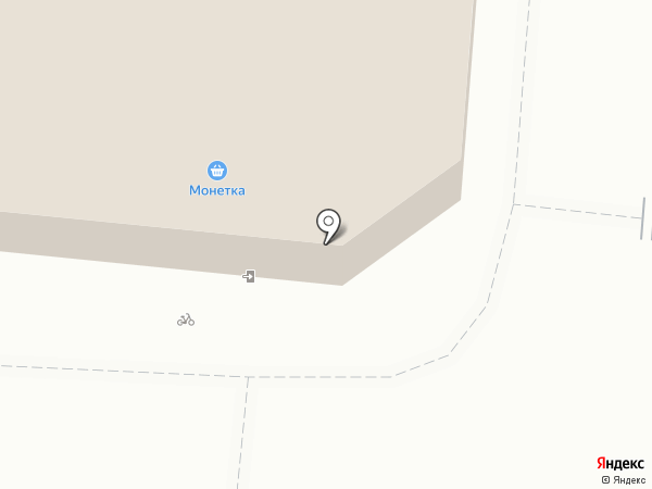 Монетка на карте Ревды