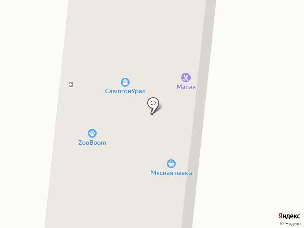 Мадлен на карте Ревды