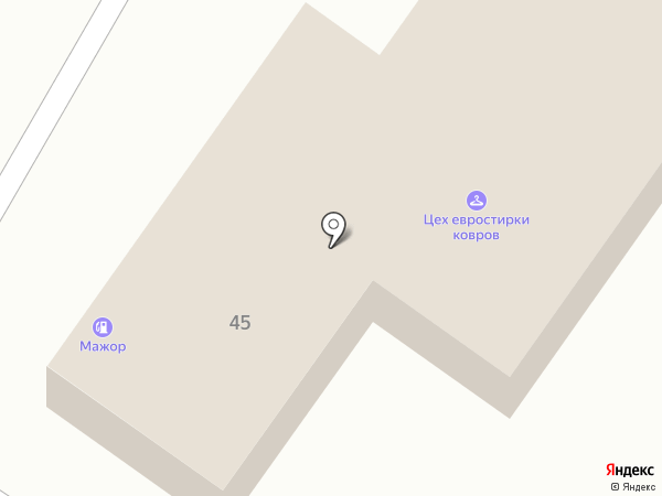 Мажор на карте Нижнего Тагила