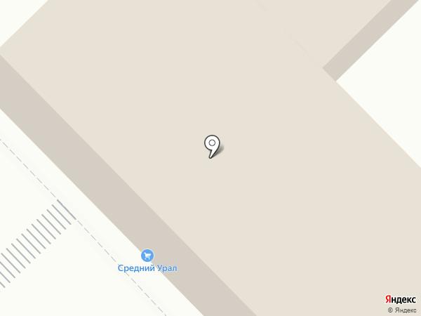 Компания по продаже пиломатериалов на карте Нижнего Тагила