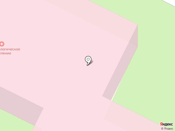 Демидовская городская больница на карте Нижнего Тагила