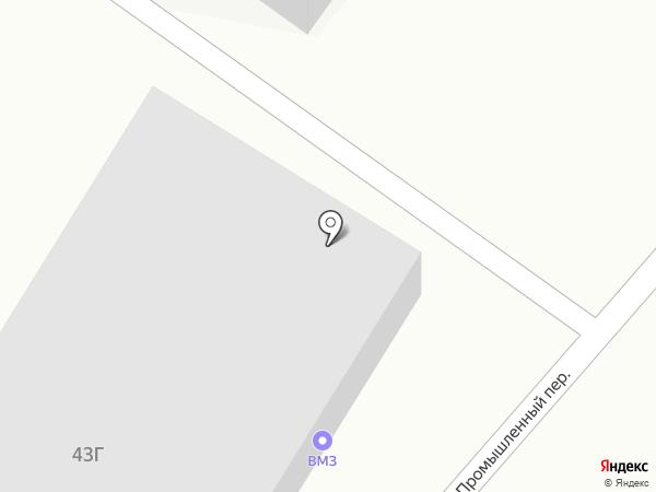 ВМЗ на карте Нижнего Тагила