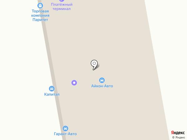 Айкон-авто на карте Ревды