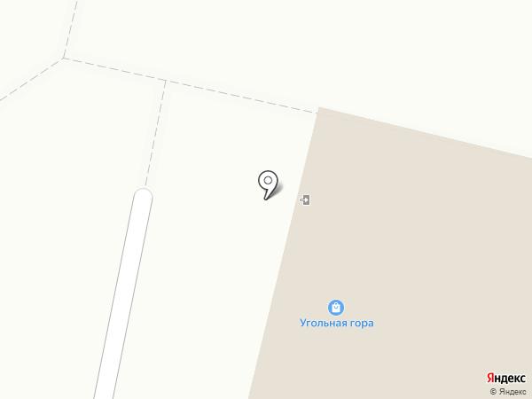 Угольная гора на карте Ревды