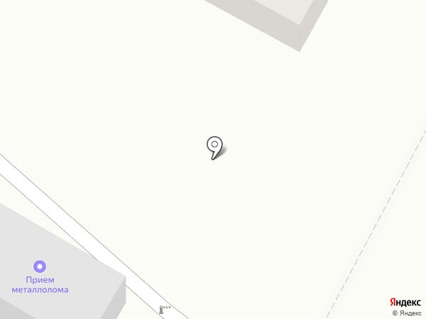 Компания по приему лома на карте Нижнего Тагила