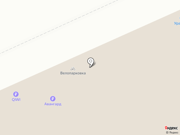 Иверия на карте Нижнего Тагила