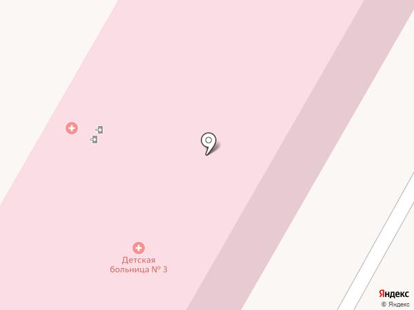Детская городская больница №3 на карте Нижнего Тагила
