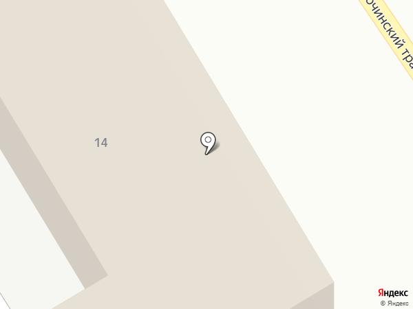 Тагилэнергосети на карте Нижнего Тагила