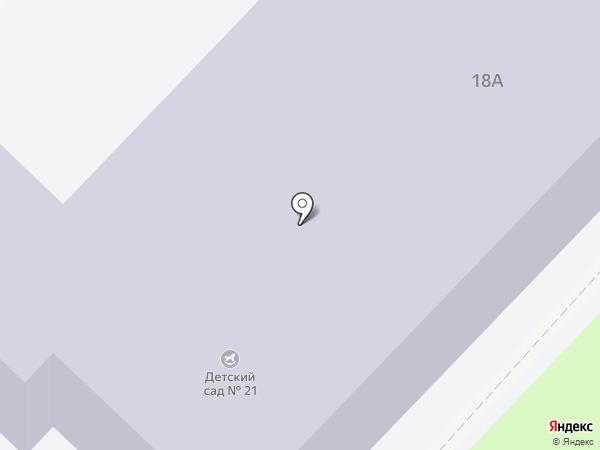 Детский сад №21 на карте Первоуральска