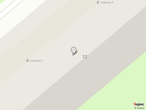 Проспект на карте Первоуральска