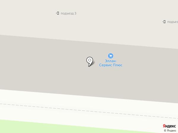 Перспектива на карте Первоуральска