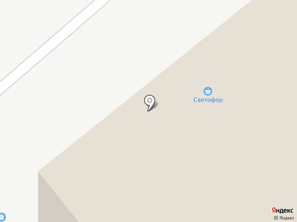 Светофор на карте Нижнего Тагила