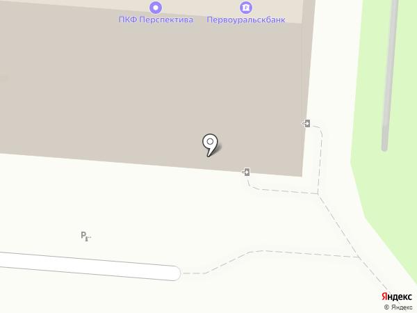 Платежный терминал, Первоуральскбанк на карте Первоуральска