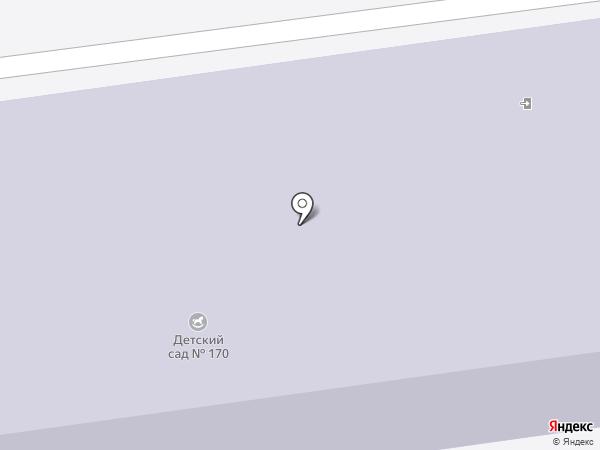 Детский сад №170 на карте Нижнего Тагила