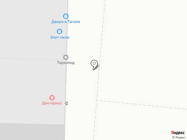 Студия маникюра на карте Нижнего Тагила