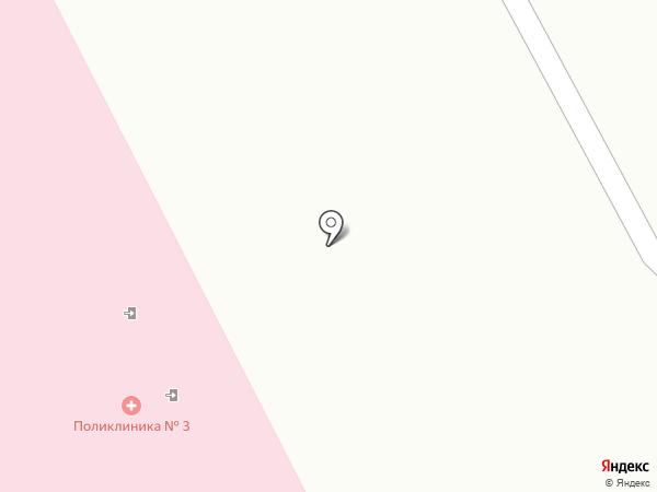 Городская поликлиника №3 на карте Нижнего Тагила