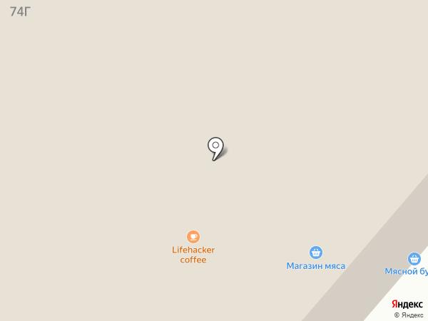Автореал на карте Нижнего Тагила