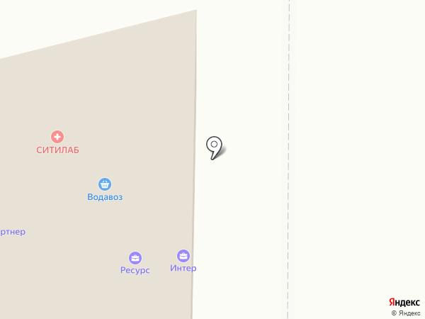 Клевер на карте Нижнего Тагила