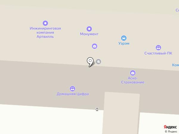 МОНУМЕНТ на карте Первоуральска