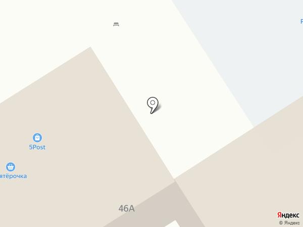 Рубин на карте Нижнего Тагила