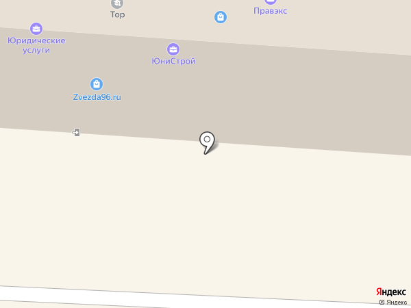 Верное решение на карте Первоуральска