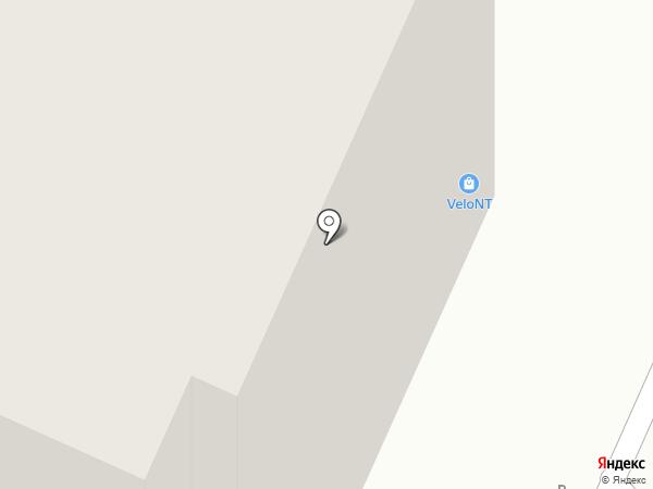 Лисьегорье на карте Нижнего Тагила