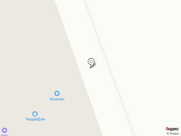 Юничел на карте Нижнего Тагила