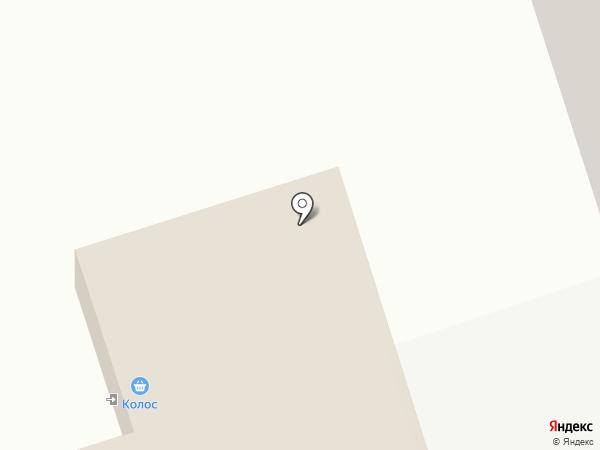 Колос на карте Нижнего Тагила