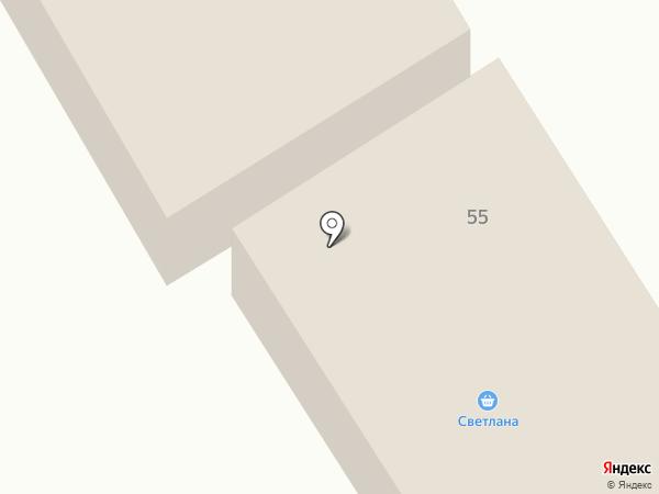 Светлана на карте Первоуральска