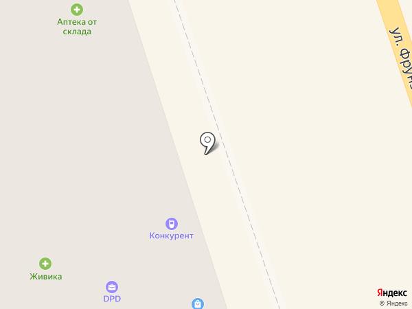 Швейная мастерская на карте Нижнего Тагила