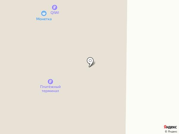 Сантехмарт на карте Нижнего Тагила