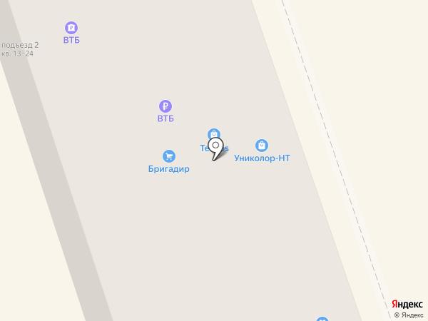 Соло на карте Нижнего Тагила