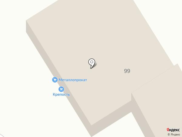 Крепость-505 на карте Нижнего Тагила