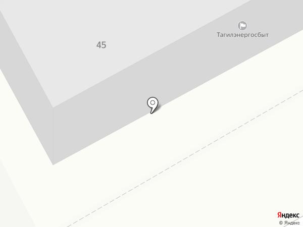 Вогуляй на карте Нижнего Тагила