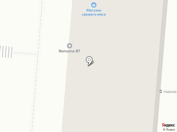 Ермолинские полуфабрикаты на карте Первоуральска