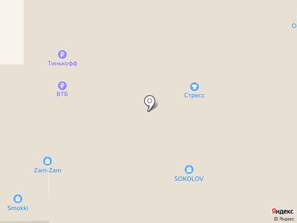 Yota на карте Нижнего Тагила
