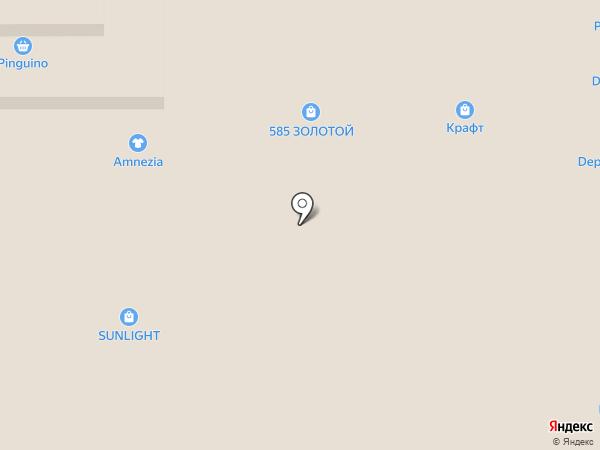 SUNLIGHT на карте Нижнего Тагила