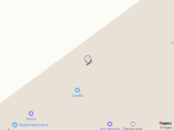 РЕЛАКС на карте Нижнего Тагила