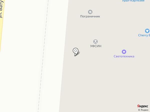 Новоселье на карте Первоуральска