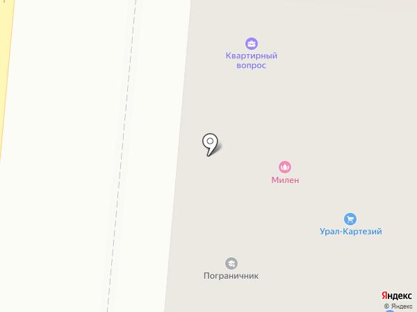 У Золотой Горы на карте Первоуральска