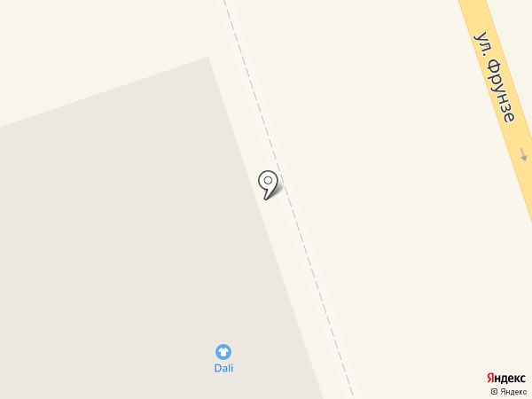Dali на карте Нижнего Тагила
