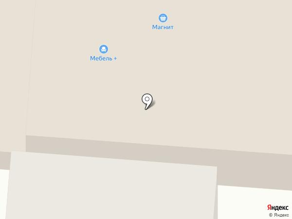 Мебель+ на карте Первоуральска