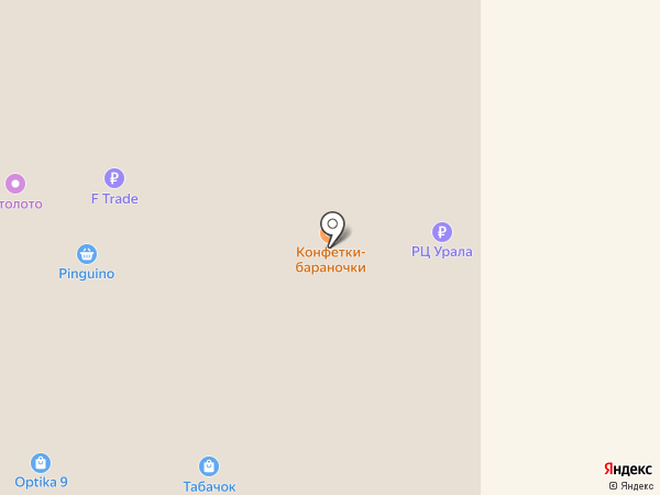 Гарком на карте Нижнего Тагила