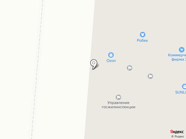 Каспер на карте Первоуральска
