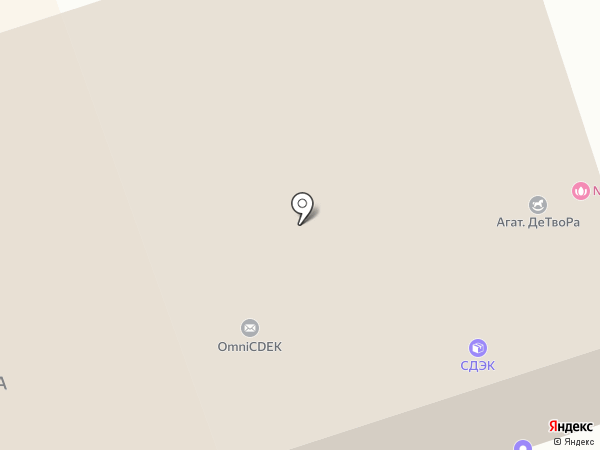 Импет на карте Нижнего Тагила