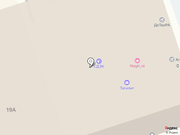 SETinBOX на карте Нижнего Тагила