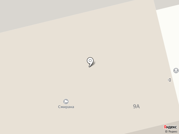 Смирана на карте Нижнего Тагила
